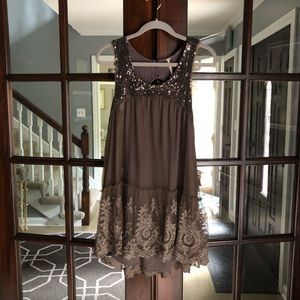 Free people tunic top or dress large